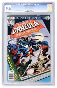 Tomb of Dracula #56 (Marvel, 1977) CGC NM+ 9.6 Off-white to white pages