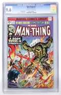 Bronze Age (1970-1979):Horror, Man-Thing #17 (Marvel, 1975) CGC NM+ 9.6 Off-white to whitepages....