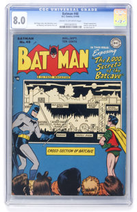 Batman #48 (DC, 1948) CGC VF 8.0 Cream to off-white pages