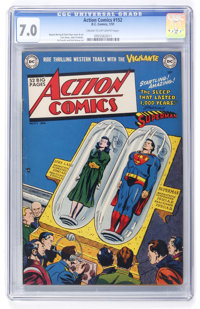 Action Comics #152 (DC, 1951) CGC FN/VF 7.0 Cream to off-white pages
