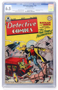 Golden Age (1938-1955):Superhero, Detective Comics #135 (DC, 1948) CGC FN+ 6.5 Cream to off-white pages....