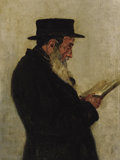 Fine Art - Painting, Russian:Antique (Pre-1900), VASILY VASILIEVICH VERESHCHAGIN (Russian, 1842-1904). Portraitof a Scholar. Oil on canvas. 10 x 7 inches (25.4 x 17.8 c...