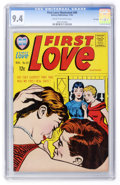 Silver Age (1956-1969):Romance, First Love Illustrated #89 File Copy (Harvey, 1962) CGC NM 9.4Cream to off-white pages....