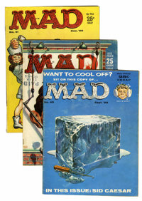 Mad Magazine #49-56 Group (EC, 1959-60).... (Total: 8 Items)