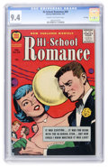 Silver Age (1956-1969):Romance, Hi-School Romance #60 File Copy (Harvey, 1957) CGC NM 9.4 Cream tooff-white pages....