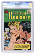 Silver Age (1956-1969):Romance, Hi-School Romance #61 File Copy (Harvey, 1957) CGC NM- 9.2 Cream to off-white pages....