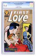 Silver Age (1956-1969):Romance, First Love Illustrated #90 File Copy (Harvey, 1963) CGC NM 9.4Cream to off-white pages....