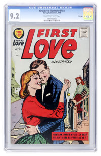 First Love Illustrated #84 File Copy (Harvey, 1958) CGC NM- 9.2 Cream to off-white pages