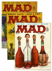 Mad Magazine #42-48 Group (EC, 1958-59) Condition: Average VG.... (Total: 7 Items)