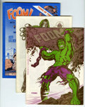 Magazines:Superhero, Foom Group (Marvel, 1973-79) Condition: Average VF+.... (Total: 20Comic Books)