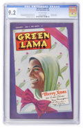 Golden Age (1938-1955):Superhero, Green Lama #7 (Spark Publications, 1946) CGC NM- 9.2 Off-white pages....