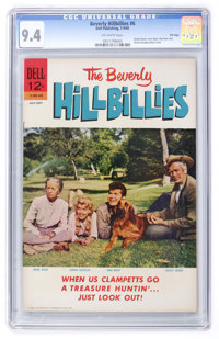 Beverly Hillbillies #6 File Copy (Dell, 1964) CGC NM 9.4 Off-white pages