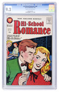 Silver Age (1956-1969):Romance, Hi-School Romance #49 File Copy (Harvey, 1956) CGC NM- 9.2 Cream tooff-white pages....
