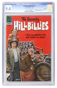 Beverly Hillbillies #4 File Copy (Dell, 1964) CGC NM 9.4 Off-white to white pages