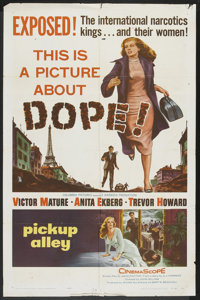 "Pickup Alley Lot (Columbia, 1957). One Sheets (2) (27"" X 41""). Crime. ... (Total: 2 Items)"