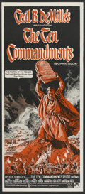 "Movie Posters:Historical Drama, The Ten Commandments (Cinema International, R-1972). AustralianDaybill (13"" X 30""). Historical Drama.. ..."