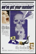 """Movie Posters:Horror, 13 (MGM, 1966). One Sheet (27"""" X 41"""") and Lobby Card Set (11"""" X14""""). Horror.. ... (Total: 9 Items)"""