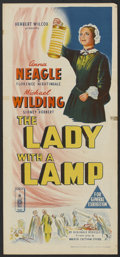 "Movie Posters:Drama, The Lady with a Lamp (London Films, 1951). Australian Daybill (13"" X 30""). Drama.. ..."