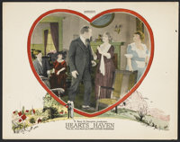 """Heart's Haven (Hodkinson Pictures, 1922). Lobby Cards (7) (11"""" X 14""""). Romance. ... (Total: 7 Items)"""