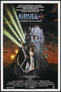 "Krull (Columbia, 1983). One Sheet (27"" X 41"") and Lobby Card Set of 8 (11"" X 14""). Fantasy. ... (Tot..."