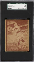 Baseball Cards:Singles (1930-1939), 1931 W517 Babe Ruth #4 SGC Authentic....