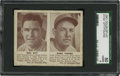 Baseball Cards:Singles (1940-1949), 1941 Double Play Mel Ott-31/Babe Young-32 SGC 50 VG/EX 4....