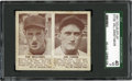 Baseball Cards:Singles (1940-1949), 1941 Double Play Ted Williams-57/Jim Tabor-58 SGC 40 VG 3....