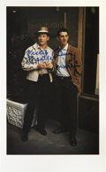 Autographs:Photos, Mickey Mantle And Billy Martin Dual Signed Photograph....