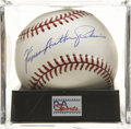 Autographs:Baseballs, Fergie Jenkins Single Signed Baseball PSA Gem Mint 10....