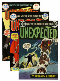 Unexpected Group (DC, 1973-82) Condition: Average VF/NM.... (Total: 17 Comic Books)