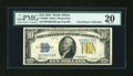 Small Size:World War II Emergency Notes, Fr. 2308 $10 1934 North Africa Silver Certificate. PMG Very Fine20.. ...