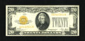 Small Size:Gold Certificates, Fr. 2402 $20 1928 Gold Certificate. Very Fine+....