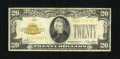 Small Size:Gold Certificates, Fr. 2402 $20 1928 Gold Certificate. Very Good-Fine....