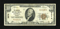 National Bank Notes: , Topeka, KS - $10 1929 Ty. 1 The Central NB Ch. # 3078...