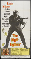 "Movie Posters:War, The Night Fighters (United Artists, 1960). Three Sheet (41"" X 81"").War.. ..."