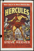 "Movie Posters:Adventure, Hercules (Warner Brothers, 1959). One Sheet (27"" X 41"").Adventure.. ..."