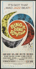 "Movie Posters:Rock and Roll, Ring-A-Ding Rhythm (Columbia, 1962). Three Sheet (41"" X 81""). Rockand Roll.. ..."
