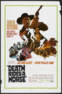 "Death Rides a Horse (United Artists, 1968). One Sheet (27"" X 41""). Western"