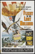 "Movie Posters:Adventure, Flight of the Lost Balloon (Woolner Brothers, 1961). One Sheet (27""X 41""). Adventure.. ..."