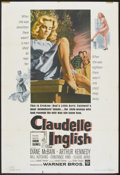 "Movie Posters:Drama, Claudelle Inglish (Warner Brothers, 1961). One Sheet (27"" X 41""). Drama.. ..."