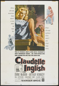 "Claudelle Inglish (Warner Brothers, 1961). One Sheet (27"" X 41""). Drama"