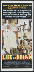 "Movie Posters:Comedy, Life of Brian (Greater Union, 1979). Australian Daybill (13"" X 28""). Comedy.. ..."