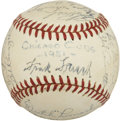 Autographs:Baseballs, 1951 Chicago Cubs Team Signed Baseball....