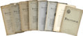 Books:Periodicals, [Francis Bacon]. Baconiana: A Quarterly Magazine - EightVolumes. Volumes in this lot span the years 1902-1916. ... (Total:8 Items)