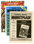 Magazines:Fanzine, Comic Book Marketplace Group (Gary Carter, 1990s) Condition: Average VF/NM.... (Total: 24 Comic Books)