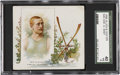 Autographs:Bats, 1888 Allen & Ginter World's Champions (N43) Wm. G. East SGC 40VG 3....