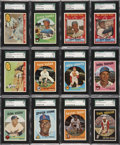 Baseball Cards:Sets, 1959 Topps Baseball Complete Set (572) Including Over 150SGC-Graded Cards!...
