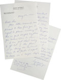 Autographs:Others, 1961 Ty Cobb Signed Letter....
