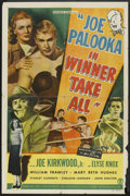 "Movie Posters:Sports, Joe Palooka in Winner Take All (Monogram, 1948). One Sheet (27"" X 41""). Sports.. ..."