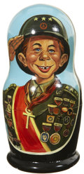 Memorabilia:MAD, Mad Alfred E. Neuman Nesting Doll Group (1999)....